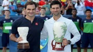 Novak Djokovic Beats Roger Federer to Clinch First Cincinnati Title, Kiki Berten Edges Simona Halep in Finals