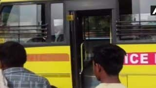 Baghpat: One Child Killed, 6 Injured After School Bus Collides With Truck on Delhi-Yamunotri Highway
