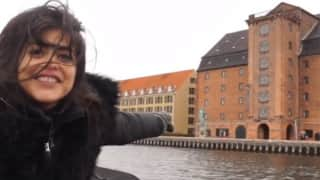 Beautiful Video of Shenaz Treasury Drinking and Dancing in Copenhagen Will Lighten Up Your Mood!