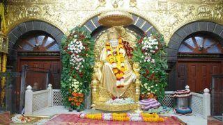 कोरोना संकट से निपटने के लिए शिरडी के साईं मंदिर ट्रस्ट का बड़ा ऐलान, महाराष्ट्र सरकार को दान किए 51 करोड़ रुपये