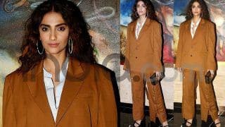 Sonam Kapoor's Latest Look Proves She Can Make Even The Most Dreadful Looks Appear Sexy