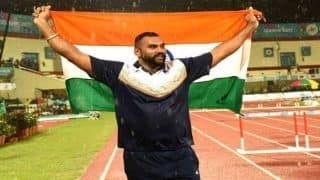 Asian Games 2018at Jakarta And PalembangDay 7 Medals Tally: India Grab Eighth Spot After Tajinderpal Singh's Gold in Shot Put, China Consolidate Lead