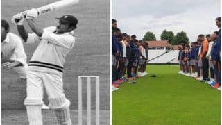 India vs England: Virat Kohli And Co. Observe Two-Minute Silence at Trent Bridge to Condole Ajit Wadekar's Demise