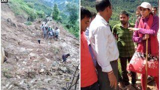 भारी बारिश का कहर: उत्तराखंड के टिहरी जिले में भूस्खलन के मलबे में दबने से चार लोगों की मौत