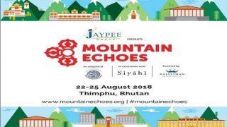 भूटान: Mountain Echoes साहित्य महोत्सव का आगाज वाजपेयी को श्रद्धांजलि देने के साथ
