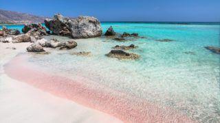 10 Incredible Pink Beaches around the World