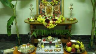 Varalakshmi Vratam 2017 Celebration: How and When The Auspicious Lakshmi Puja of Shravan Month Is Held