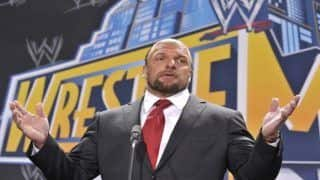 WWE's Triple H Relieves Stress by Spending Time With Family--SEE Pictures