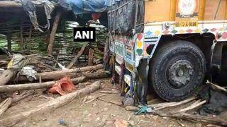एमपी: ढाबा में घुसा ट्रक, मालिक और उसके दो बच्चों समेत 6 मरे, तीन की हालत गंभीर