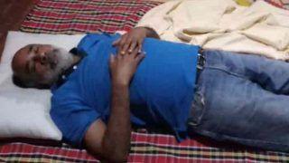 केंद्रीयमंत्री अल्फोंस ने केरल के बाढ़ राहत शिविर में सोते हुए तस्वीर शेयर की, ट्विटर पर हुए ट्रोल