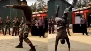 Viral Video: 'आलू चाट' पर 2.4 मिनट डांस करता रहा सेना का जवान, मूव्स देखते रहे गए लोग!