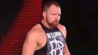 Dean Ambrose Makes WWE Return From Injury On Monday Night Raw After Nine Months