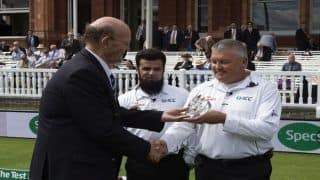India vs England 2018 2nd Test, Lord's: Marais Erasmus Completes Half-Century Of Tests
