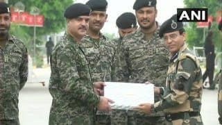 BSF Exchanges Sweets, Pleasantries With Pakistan Rangers on Eid al-adha