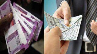 Rupee Rises 35 Paise to 72.65 Against US Dollar in Early Trade