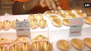 इस शहर में बिक रही है 9 हजार रुपये किलो वाली सोने की मिठाई