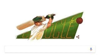 Don Bradman: Google Doodle Celebrates 110th Birthday Anniversary of Australian Cricket Legend
