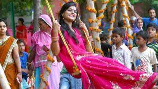 Hariyali Teej 2018: मां बनने वाली हैं तो इस विधि से करें हरियाली तीज
