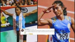 Asian Games 2018 Day 8: Hima Das Wins Silver in 400m Race Event, Thanks Fans For All The Support, India's Medal Tally at 36