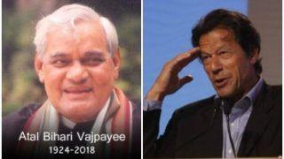 पाकिस्तान सरकार और नेताओं ने दी भारत के पूर्व प्रधानमंत्री अटल बिहारी वाजपेयी को श्रद्धांजलि