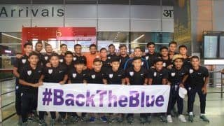 Indian Under-20 Football Team Returns Home After Historic Win Against Argentina in COTIF Cup