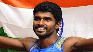 Asian Games 2018: Jinson Johnson Bags Gold in Men's 1500m Race, Manjit Singh Misses Out on Medal;India's Gold Tally Increases to 12