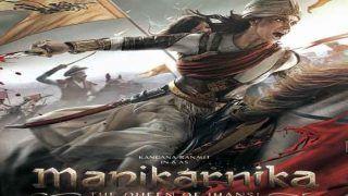 'मणिकर्णिका- द क्वीन ऑफ झांसी' का पोस्टर जारी... सही मायने में क्वीन दिख रहीं कंगना