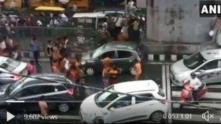 Kanwariyas Vandalise Car in Delhi's Moti Nagar; Delhi Police Arrests One