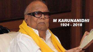 करुणानिधि का निधन: राष्ट्रपति, पीएम मोदी, राहुल गांधी सहित तमाम नेताओं ने जताया शोक