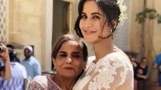 Bharat: सलमान खान की 'दुल्हन' बनीं कैटरीना, मां सलमा ने गले लगाया