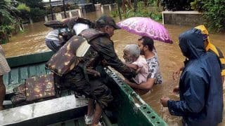 Kerala Floods 2018: 483 Dead, 15 Missing, Says Pinarayi Vijayan; All-party Delegation Meets Rajnath Seeking More Funds