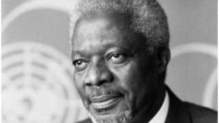 Former UN Secretary-General Kofi Annan to be Buried in Ghana on September 13