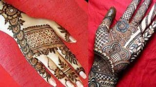 Sawan 2021 Mehendi Design: सावन के महीने में हाथों पर लगाएं मेहंदी के ये लेटेस्ट डिजाइन