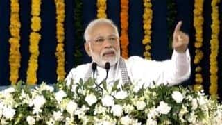 Modi in Gujarat: PM Hails PMAY Scheme, Says he Dreams of Every Family Owning a House by 2022