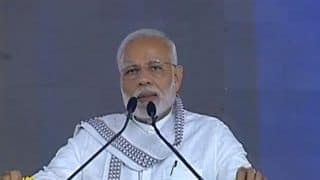 Narendra Modi in Gujarat Live News Updates: Govt's Emphasis on Cleanliness is Being Universally Appreciated