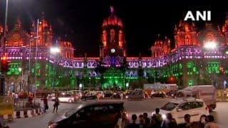 Mumbai's CSMT Station Lit in Tricolour Ahead of Independence Day