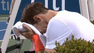 Citi Open: Andy Murray Sobs After Another Three-Set Win In Washington---Watch