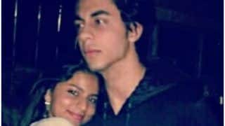 Suhana Khan Flaunts Her Love For Brother Aaryan Khan by Giving Him a Warm Hug in Latest Picture