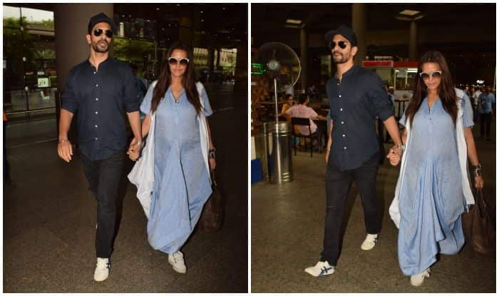 Neha Dhupia, Angad Bedi Spotted After Announcing Pregnancy