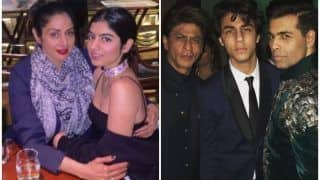 Karan Johar to Launch Sridevi's 2nd Daughter Khushi Kapoor Opposite Shah Rukh Khan's Son Aryan Khan?