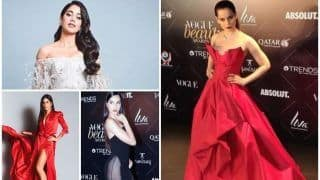 Kangana Ranaut, Janhvi Kapoor, Katrina Kaif, Nora Fatehi and More Raise The Temperatures at Vogue Beauty Awards 2018