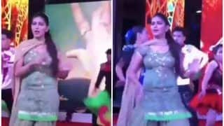 Haryanvi Bombshell And Billori Akh Fame Sapna Choudhary Flaunts Her Sexy Thumkas on Rajkummar Rao And Shraddha Kapoor's Song, Watch
