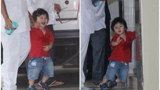 Kareena Kapoor Khan's Baby Taimur Ali Khan is Here to Spread Happiness, See Cute Pics