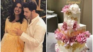 Priyanka Chopra and Nick Jonas Engagement: A look at Their Pretty Cake, See Picture