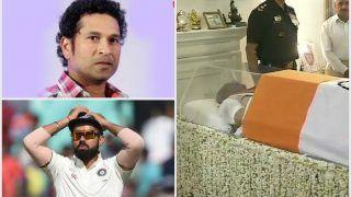 अटल बिहारी वाजपेयी के निधन से उदास 'भारतीय क्रिकेट', सचिन से विराट तक सबने जताया शोक