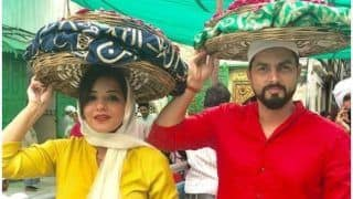 Bhojpuri Actress And Nazar Fame Monalisa Gives Eid Wishes, Shares Pics With Hubby Vikrant Singh Rajpoot, Check