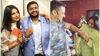 Raksha Bandhan 2018: सलमान खान और प्रियंका चोपड़ा ने सेलिब्रेट किया रक्षाबंधन, देखें PICS