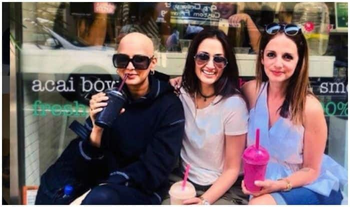 Sonali Bendre shares health update on Friendship Day saying bald is lovely