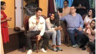 Priyanka Chopra And Fiance Nick Jonas Visit St. Catherine's Orphanage, Nick Woos Kids With His Voice - Watch Video