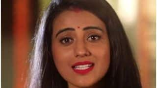 Bhojpuri Actress Akshara Singh Dedicates a Song For Brothers on Raksha Bandhan, Watch Viral Video
